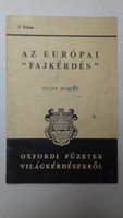 """Julian Huxley: Az európai """"fajkérdés"""" (1939)"""