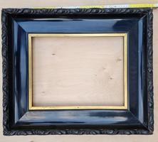 Fekete, arany betétléces képkeret 30x40 cm (1849)