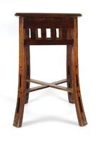 1F383 Antik kisméretű szecessziós virágtartó bútor XIX. század