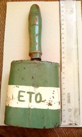 Antik ETO szurkolói kolomp! Nagyon régi darab!