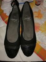 Szebbnél szebbek molett nálam kényelmi komfort Jana soft line 40  cipő fekete