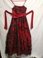 38-40-es AMELIA, alkalmi, vállpántos,estélyi, báli, hosszú, maxi, női ruha