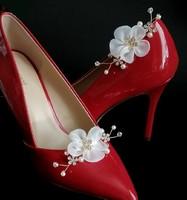 Esküvői, menyasszonyi, alkalmi cipődísz, cipőklipsz ES-CK22