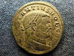 Római Birodalom I. Constantius ezüstözött AE Follis SACRA MON VRB AVGG ET CAESS NN T R (id52025)
