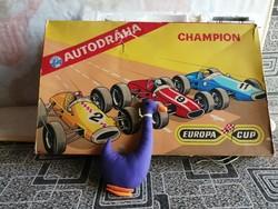 21178A1 Retro csehszlovák autóverseny pálya - Autodráha Europa Cup Champion