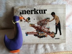 21178A3 Merkur 4 retro fém építőjáték