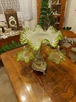 Antik pazas asztali kínáló!