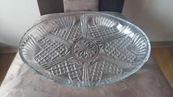 Új ovális üvegtál - Bormioli Rocco - 32 cm