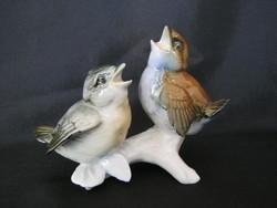 ENS porcelán madár pár