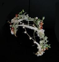 Ékszerek-hajdíszek, hajcsatok: Esküvői, menyasszonyi, alkalmi hajdísz ES-H-TI13a