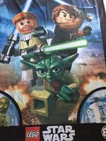 Eredeti Star Wars Lego termék, paplanhuzat fiúknak