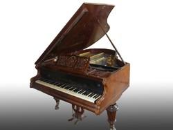 3034 Antik bécsi zongora Belehradek Wien