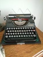 CONTINENTAL írógép fekete