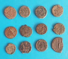 12 római kisbronz