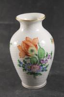 Herendi fonott virágos váza 964