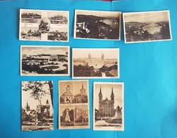 38 db képeslap , magyar városok