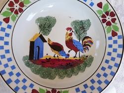 Kakasos tányér, Wilhelmsburg keménycserép