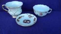 Antik MEISSENI porcelán csomag