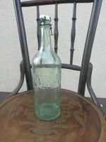 Mátravize gyöngyös csatos üveg palack
