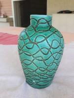 Retro váza, iparművészeti kerámia, masszív, nehéz
