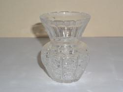 Régi üveg ibolya váza