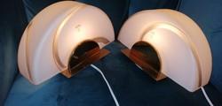 Ritka Art deco Muránoi Vetri asztali lámpa szép állapotban. 2db.Alkudható!