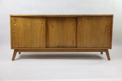 Tömörfa sideboard 60-as évekből