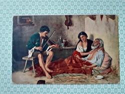Régi képeslap Valentini az utolsó kívánság művészi levelezőlap