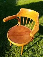 Jelzett Mundus Thonet szék,íróasztalszék,karfás