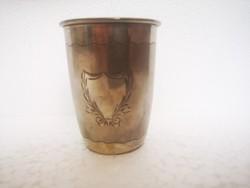 Art deco ezüst magyar keresztelő pohár 54gr