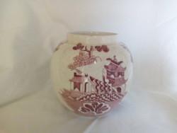 Mason's angol fajansz gömb váza