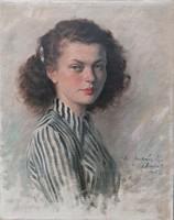 Rezes Molnár Lajos (1896-1989) / Leány portré