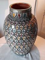 Marokkói antik kerámia váza 41,5 cm