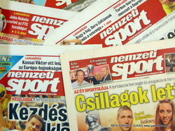 2001 augusztus 12  /  nemzeti SPORT  /  SZÜLETÉSNAPRA!? Eredeti, régi újság :-) Ssz.:  18826