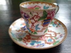Ritka, antik angol Minton kávés csésze aljjal chinese tree 2067-es dekorral