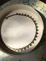 Iparművész készítette vintage réz nyaklánc