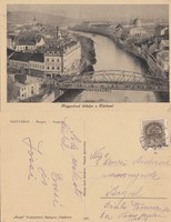 Románia Nagyvárad Látképe a Körössel 1942 RK MET