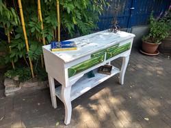Vintage előkészítő asztal, konzolasztal 34.000 Ft