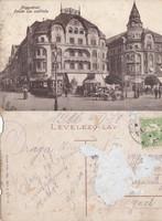 Románia Nagyvárad Fekete sas szálloda 1916 RK MET , sérült