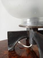 Kovácsoltvas asztali lámpa