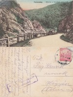 Románia Petrozsény részlet a Szurdoki szorosból 1917 RK MET