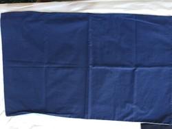Minőségi pamutvászonból sötétkék-világoskék párnahuzat eladó!   1 db van belőle, 45 x 73 cm