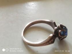 Antik szovjet ezüst gyűrű (53)