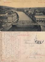 Románia Nagyvárad Körösparti részlet 1912 RK MET