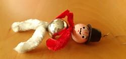 Retro karácsonyfadísz a Dédi hagyatékából
