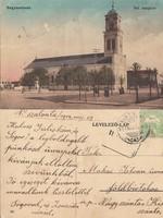 Románia Nagyszalonta Ref. templom 1914 RK Magyar elcsatolt területek