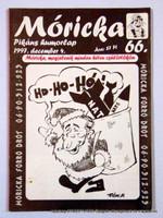 1997 december 4  /  Móricka  /  SZÜLETÉSNAPRA! PIKÁNS HUMORLAP? Ssz.:  13255
