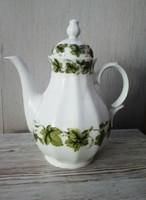 Bavaria szőlőlevél mintás porcelán kiöntő