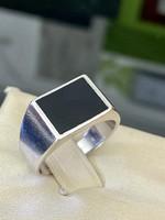 Masszív ezüst pecsétgyűrű