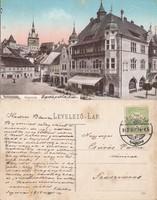 Románia Segesvár Iparpalota 1913 RK Magyar elcsatolt területek